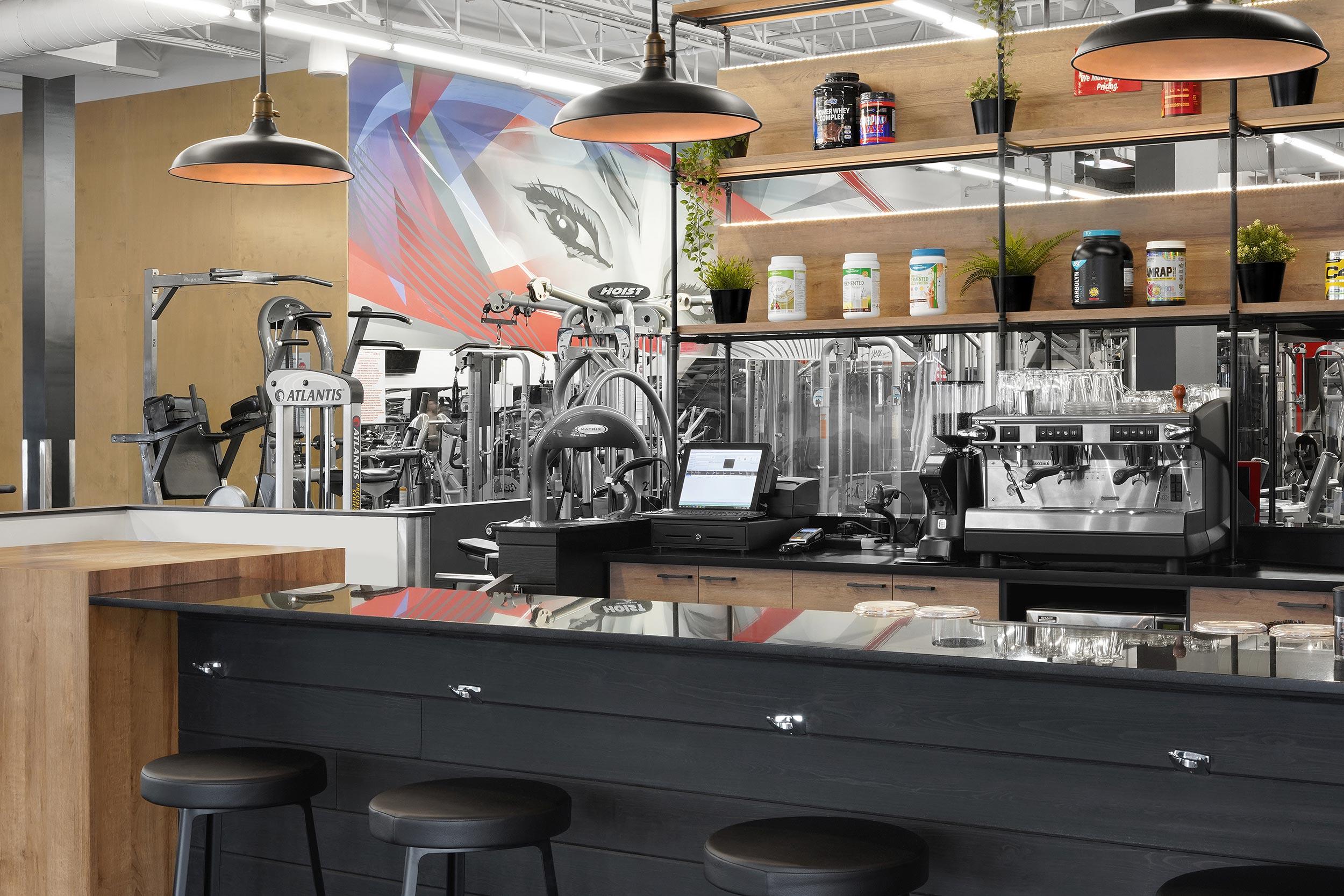 Bar à shake et café