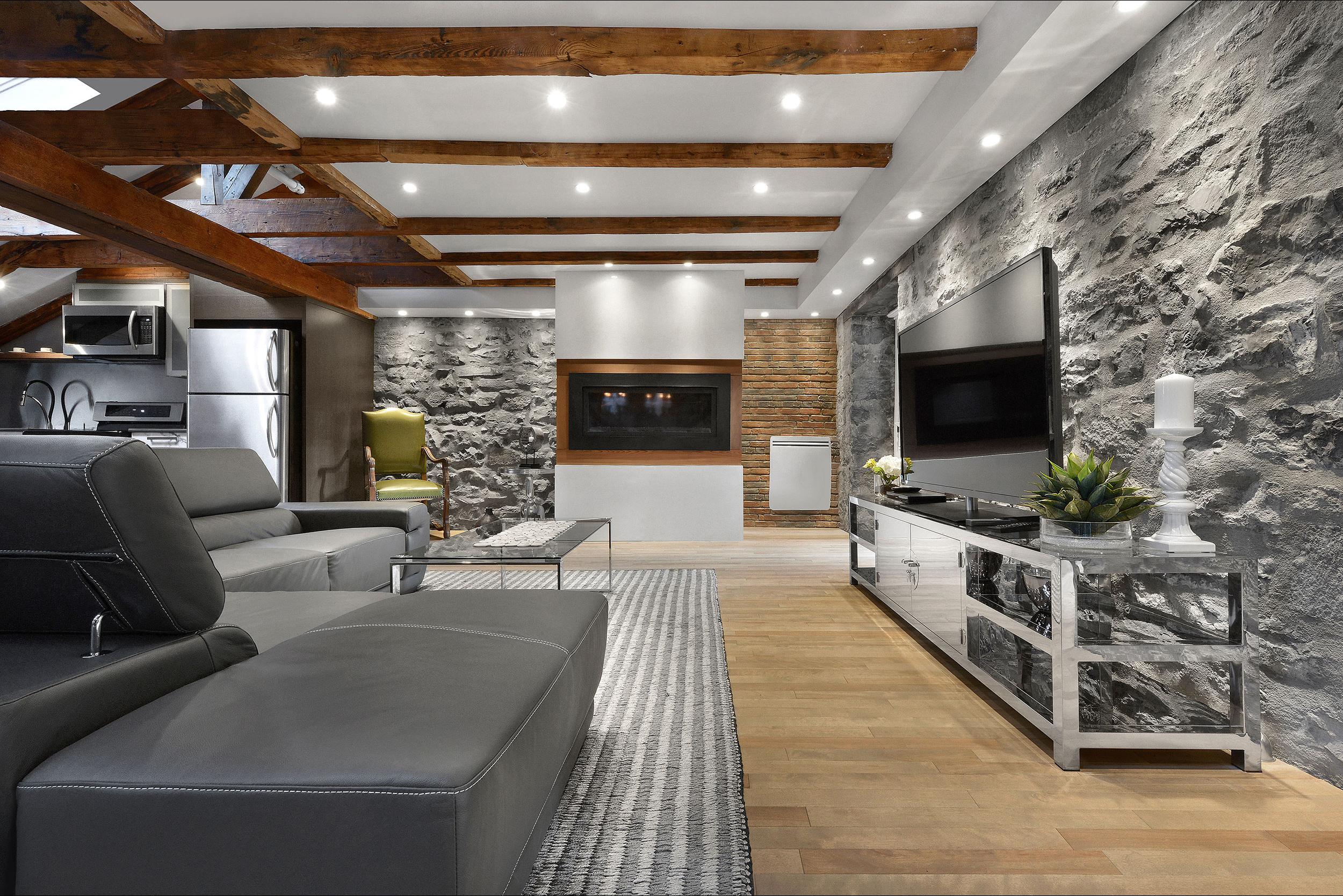 Epik penthouse salon accueillant
